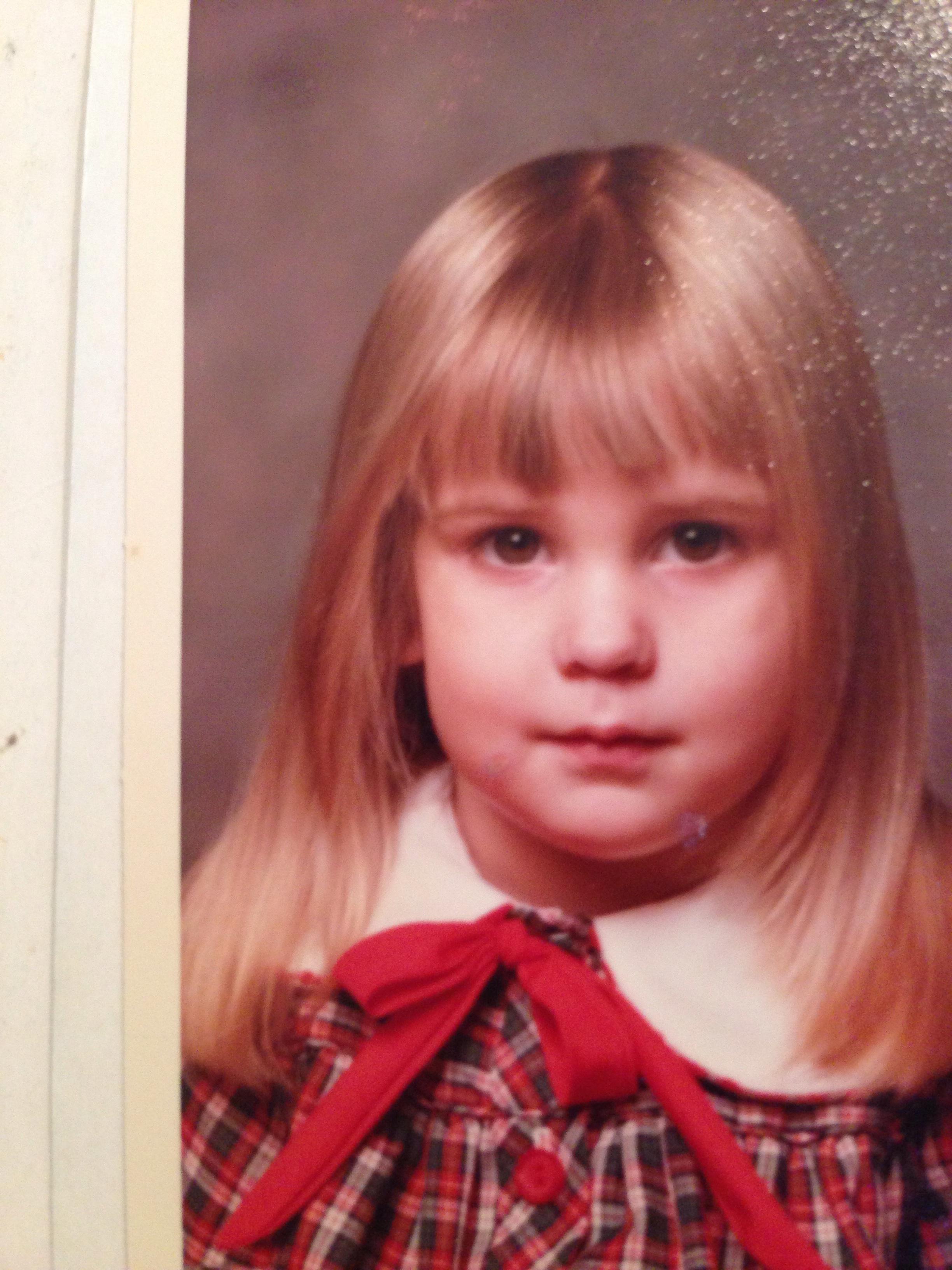 Heather O'rourke Drew Barrymore Left Heather O'rourke as